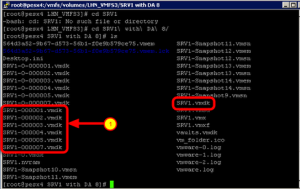 Verifying the VMDK is not in an ESX/vSphere Format