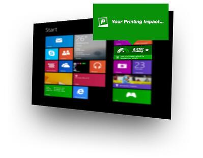 Windows Live Tile for PaperCut