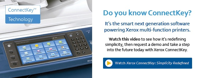 Watch Lewan Xerox ConnectKey Video and Request Demo