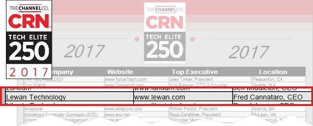 Lewan Technology Blog | Lewan Awards & Certifications